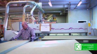Производство мебели начинается с листа МДФ